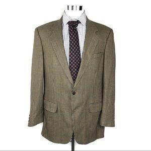 Burberry Mens tan blazer size 44R